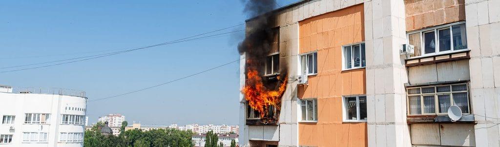 incêndio em condomínio